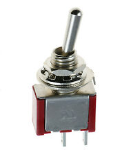 On/Off Mini Miniature Toggle Switch Car Dash SPST