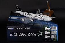 """Thai Airways 747-400 HS-TGW """"Star Alliance 15""""  JC Wings 1:200 Diecast XX2407"""