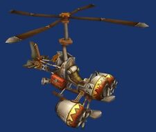 Gyrocopter Warcraft Hero Helicopter Wood Model Replica Small Free Shipping