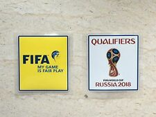 Set Of FIFA 2018 Russia World Cup Qualifiers Patch Badge Pièce Parche Toppa