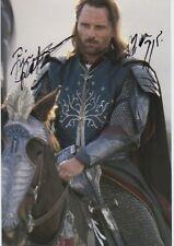 """Viggo Mortensen """"Herr der Ringe"""" Autogramm signed 20x30 cm Bild"""