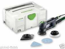 Festool 571821 RO90 DX FEQ Plus GB ROTEX Multi Jet Stream Sander 240v Systainer