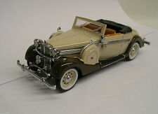 1937 Maybach SW38 Spohn Convertible 1:43 Die-Cast Signature Models 43705