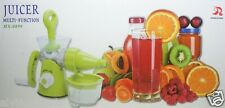 Hand Operated Vegetables Fruits Lemon Squeezer Juice Extractor Machine