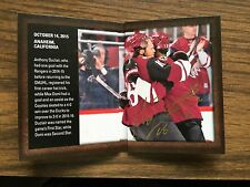 2015-16 SP Authentic Moments Dual Auto Booklet Duclair Domi Coyotes