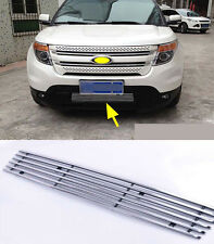 Front Grille Around Trim Full Set for 2011-2014 Ford Explorer Center 1PCS