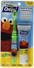 2 Pack - Baby Orajel Tooth & Gum Cleanser Bright Banana Apple 1oz Each