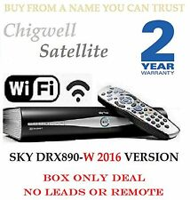 Sky + Plus HD Box WIFI - 500 GB-AMSTRAD drx890w costruita in wireless su richiesta