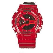 Casio G-Shock GA-110LPA-4A Red/Black Punching Pattern Series Men's Watch