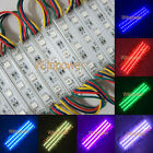 100x Super Bright 5050 RGB LED Module SMD 3 LEDS Light Waterproof 0.72W 12V DC