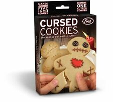 FRED THE VOODOO DOLL COOKIE CUTTER HILARIOUS CURSED COOKIE CUTTER HALLOWEEN