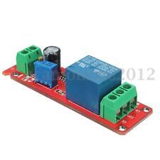 12V Ajustable Relé Interruptor Temporizador Eléctrico Oscillator 0-10 Seg NE555