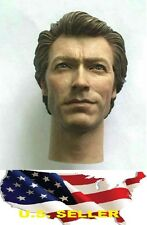 1/6 Clint Eastwood Head Dirty Harry for Hot toys body narrow shoulder ❶USA❶