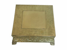 "GiftBay Wedding Cake Stand 20"" Square, Gold Strongly Built, Professional Quality"