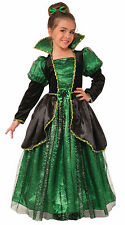 Girls Enchanted Wishes Witch Costume Fairy Tale Good Bad Witch Size Large 12-14