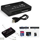 All in 1 External USB Memory Card Reader Adapter Mini M2 MMC CF EA SD SDHC XD MS