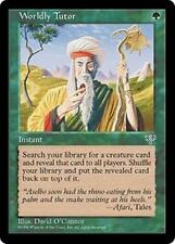 WORLDLY TUTOR Mirage MTG Green Instant Unc