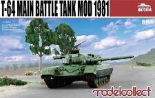 ModelCollect UA72014 1/72 T-64 Main Battle Tank Mod 1981