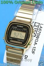 LA670WGA-1D Original Casio Watch Casual Classic Women's Gold Black Digital New