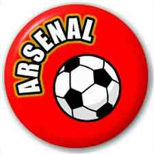 Arsenal Fc Supporters Football 25Mm Pin Button Badge Lapel Pin