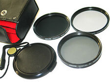 LENS FILTER Kit MC Uv ND4 CPL FOR Canon EOS 450D 1000D XSi T2i T3i with kit lens