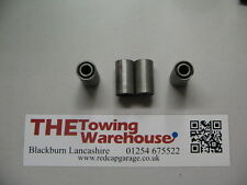 4 x P12081 Spring eye bush  for 1996 on Ifor williams trailers (Grey Hub cap)