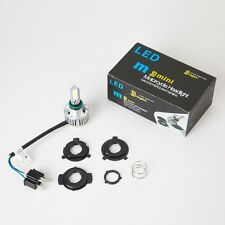 H4 COB LED Bulb HID White 360° Hi/Low Beam Motorcycle Headlight 6500K High Power