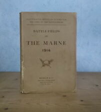 GUERRE 1914-1918 GUIDE MICHELIN BATTLE-FIELDS OF THE MARNE 1914 (VERS 1920, ILL)