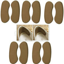 5 Pairs Useful Sticky Fabric Shoe Back Heel Inserts Insoles Pads Cushion