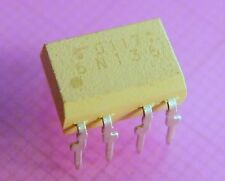 10x 6N136 Single Channel, High Speed Optocoupler, Toshiba