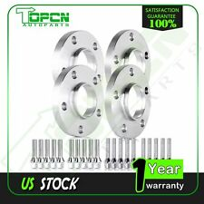 4PCS 20mm Hub Centric Wheel Spacers Adapters 5x112 66.6mm 12x1.5 For Mercedes