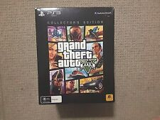 Grand Theft Auto GTA V 5 PS3 Collector's Edition Brand New with DLC codes
