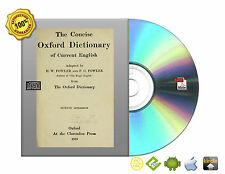 The concise Oxford dictionary of current English by Fowler, H. W. (Henry Watson)