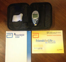 Abbott Freestyle Lite Blood Glucose Monitor Meter with Case
