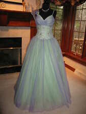 Precious Formals P20617 Lilac Mint Pageant Prom Ball Gown Dress sz 10