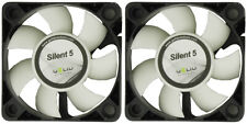 2 x Pack of Gelid Solutions Silent 5 50mm Case Fans 4000 RPM, 12.9 CFM, 23 dBA