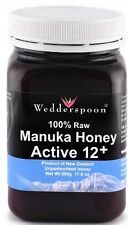 Wedderspoon RAW Manuka Honey Active 12+ 500g