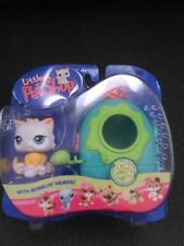Littlest Pet Shop Persian Kitten Portable Pets LPS #207 NIP VHTF RARE
