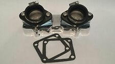Billet Intake Manifolds Kit Stock 26mm 28mm Carbs Carburetors Yamaha Banshee 350