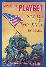 Marx PlaySet 1963 SANDS OF IWO JIMA Largest 296 Piece Set-Mint Contents