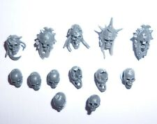 Warhammer Age of Sigmar Vampire Counts Skeletons Heads x 13 – Y654