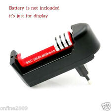 EU Plug Universal Charger For 3.7V 18650 16340 14500 Li-ion Rechargeable Battery