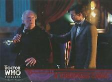 """Doctor Who Timeless: No 76 """"A Christmas Carol"""" Red Parallel Base Card #22/25"""