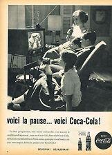PUBLICITE ADVERTISING 124  1960  COCA-COLA 2   la pause soda