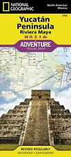 National Geographic Yucatan Peninsula Adventure Travel Map - Mexico