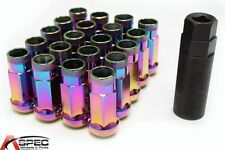VARRSTOEN VT48 12X1.5MM EXTENDED OPEN LUG NUTS (NEO CHROME) FITS IS300 IS250 SC
