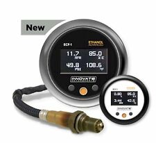 Innovate 3903 ECF-1 Ethanol Flex Fuel e85 Wide Band Gauge + Fuel Temp & Press