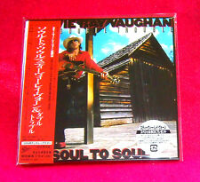 STEVIE RAY VAUGHAN SOUL TO SOUL JAPAN MADE MINI LP CD NEW OUT OF PRINT EICP-1175
