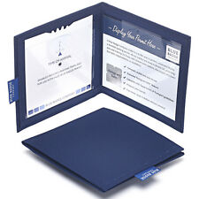 Disabled Parking Permit Cover Navy Drill Hologram-Safe©