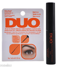 DUO BRUSH ON Striplash Adhesive Eyelash Dark tone Glue with Vitamins Ardell